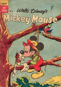 Cover Thumbnail for Walt Disney's Mickey Mouse (W. G. Publications; Wogan Publications, 1956 series) #15