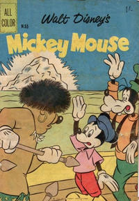 Cover Thumbnail for Walt Disney's Mickey Mouse (W. G. Publications; Wogan Publications, 1956 series) #55