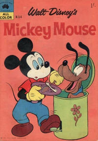 Cover Thumbnail for Walt Disney's Mickey Mouse (W. G. Publications; Wogan Publications, 1956 series) #54