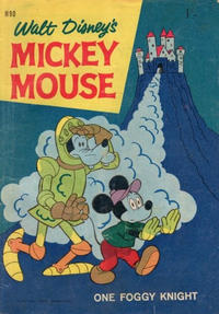 Cover Thumbnail for Walt Disney's Mickey Mouse (W. G. Publications; Wogan Publications, 1956 series) #90