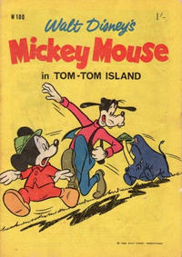 Cover Thumbnail for Walt Disney's Mickey Mouse (W. G. Publications; Wogan Publications, 1956 series) #100