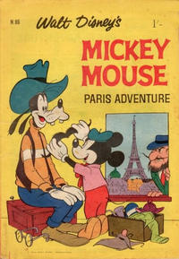 Cover Thumbnail for Walt Disney's Mickey Mouse (W. G. Publications; Wogan Publications, 1956 series) #86