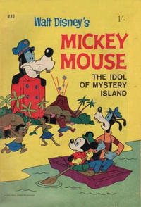 Cover Thumbnail for Walt Disney's Mickey Mouse (W. G. Publications; Wogan Publications, 1956 series) #83