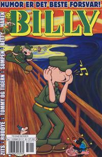 Cover Thumbnail for Billy (Hjemmet / Egmont, 1998 series) #11/2013