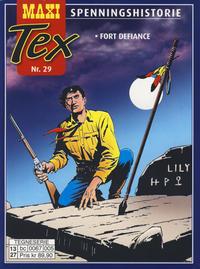 Cover Thumbnail for Maxi Tex (Hjemmet / Egmont, 2008 series) #29 - Fort Defiance