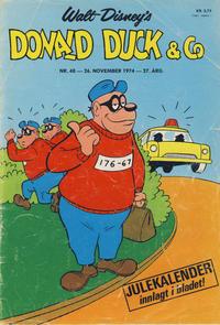 Cover Thumbnail for Donald Duck & Co (Hjemmet / Egmont, 1948 series) #48/1974