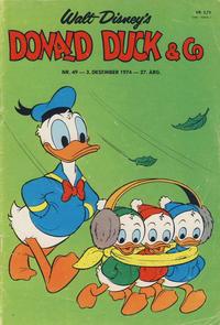 Cover Thumbnail for Donald Duck & Co (Hjemmet / Egmont, 1948 series) #49/1974