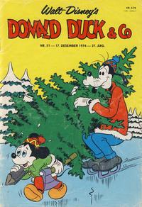 Cover Thumbnail for Donald Duck & Co (Hjemmet / Egmont, 1948 series) #51/1974