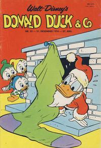 Cover Thumbnail for Donald Duck & Co (Hjemmet / Egmont, 1948 series) #52/1974
