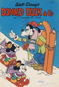 Cover Thumbnail for Donald Duck & Co (Hjemmet / Egmont, 1948 series) #1/1975