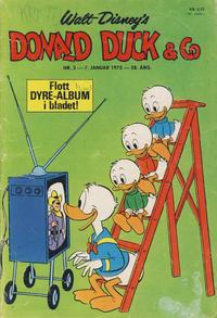 Cover Thumbnail for Donald Duck & Co (Hjemmet / Egmont, 1948 series) #2/1975