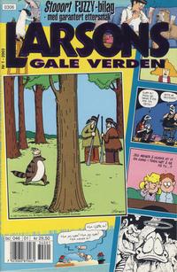 Cover Thumbnail for Larsons gale verden (Bladkompaniet / Schibsted, 1992 series) #1/2003