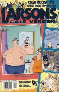 Cover Thumbnail for Larsons gale verden (Bladkompaniet / Schibsted, 1992 series) #2/2003