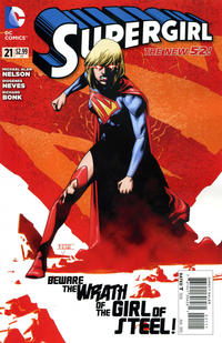 Cover Thumbnail for Supergirl (DC, 2011 series) #21 [Direct Sales]