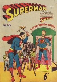 Cover Thumbnail for Superman (K. G. Murray, 1947 series) #45