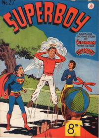 Cover Thumbnail for Superboy (K. G. Murray, 1949 series) #27