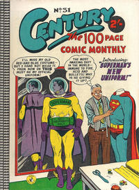 Cover Thumbnail for Century, The 100 Page Comic Monthly (K. G. Murray, 1956 series) #31