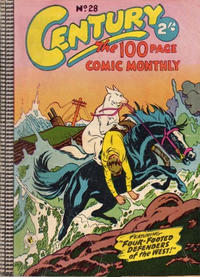 Cover Thumbnail for Century, The 100 Page Comic Monthly (K. G. Murray, 1956 series) #28