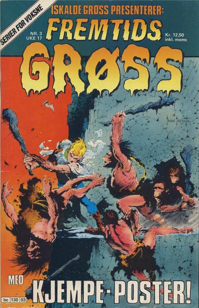 Cover for Iskalde Grøss (Semic, 1982 series) #3 [1988]