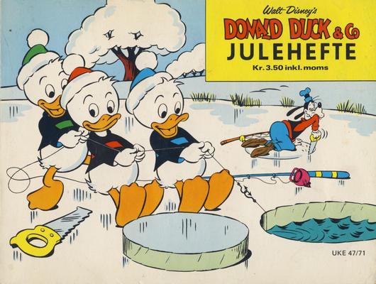 Cover for Donald Duck & Co julehefte (Hjemmet / Egmont, 1968 series) #1971