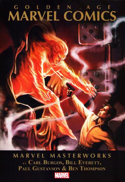 Cover for Marvel Masterworks: Golden Age Marvel Comics (Marvel, 2012 series) #1