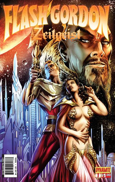 Cover for Flash Gordon: Zeitgeist (Dynamite Entertainment, 2011 series) #1 [Cover A (75%) Alex Ross]