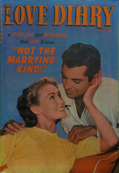 Cover for Love Diary (Orbit-Wanted, 1949 series) #29