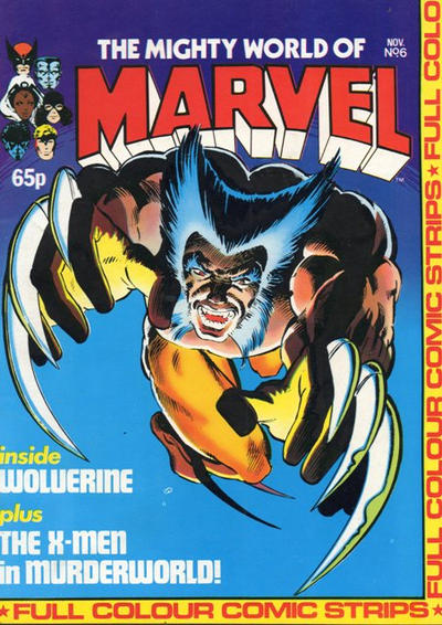 Cover for The Mighty World of Marvel (Marvel UK, 1982 series) #6