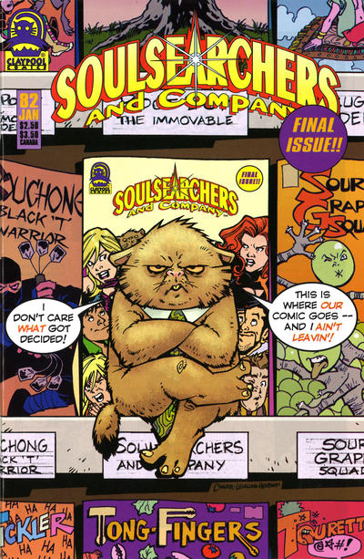 Cover for Soulsearchers and Company (Claypool Comics, 1993 series) #82