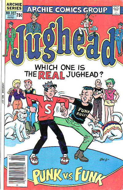 Cover for Jughead (Archie, 1965 series) #327 [Canadian]