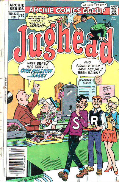 Cover for Jughead (Archie, 1965 series) #332
