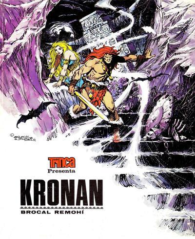 Cover for Colección Trinca (Doncel, 1971 series) #17 - Kronan
