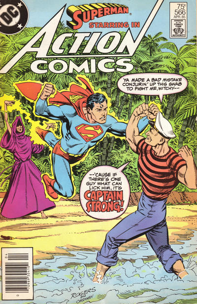 Cover for Action Comics (DC, 1938 series) #566 [Direct Sales]