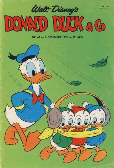 Cover for Donald Duck & Co (Hjemmet / Egmont, 1948 series) #49/1974