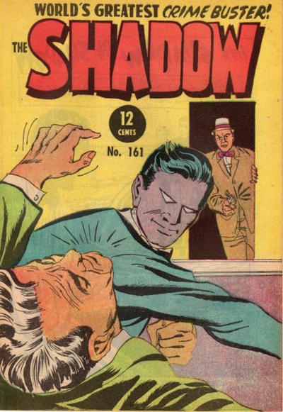 Cover for The Shadow (Frew Publications, 1952 series) #161