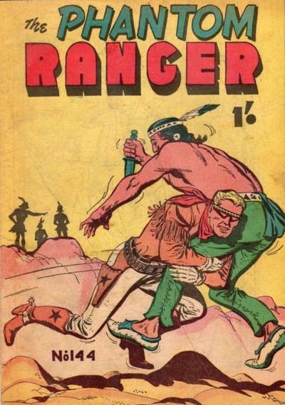 Cover for The Phantom Ranger (Frew Publications, 1948 series) #144