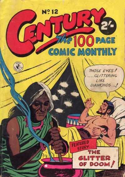 Cover for Century, The 100 Page Comic Monthly (K. G. Murray, 1956 series) #12