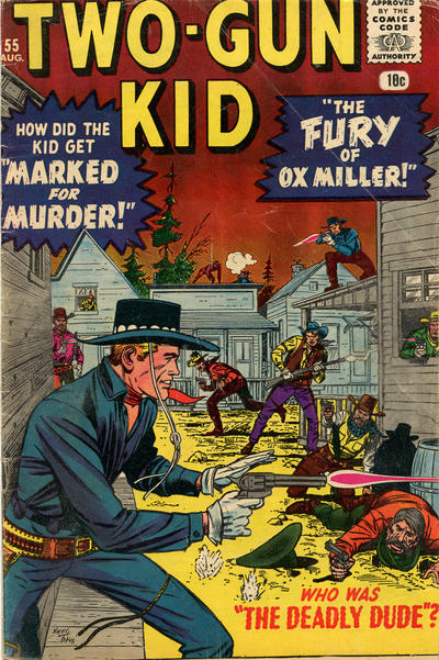 Cover for Two Gun Kid (Marvel, 1953 series) #55