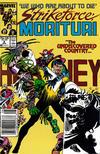 Cover for Strikeforce: Morituri (Marvel, 1986 series) #9 [Newsstand]