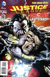 Cover for Justice League (DC, 2011 series) #21