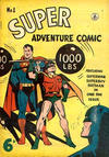 Cover for Super Adventure Comic (K. G. Murray, 1950 series) #1