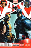 Cover for A+X (Marvel, 2012 series) #9 [Newsstand Edition]