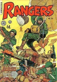 Cover Thumbnail for Rangers Comics (H. John Edwards, 1950 ? series) #20