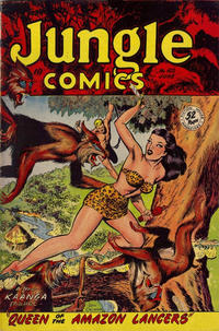 Cover Thumbnail for Jungle Comics (The American News Company, 1948 ? series) #102