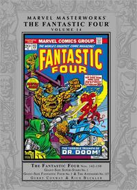 Cover Thumbnail for Marvel Masterworks: The Fantastic Four (Marvel, 2003 series) #14