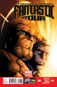 Cover Thumbnail for Fantastic Four (Marvel, 2013 series) #8