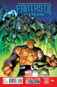 Cover Thumbnail for Fantastic Four (Marvel, 2013 series) #9