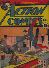 Cover Thumbnail for Action Comics (DC, 1938 series) #28 [Canadian]