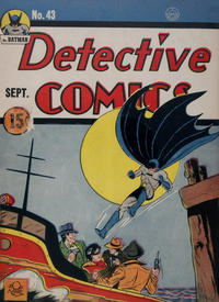 Cover Thumbnail for Detective Comics (DC, 1937 series) #43 [15¢ edition - possible Canadian edition]