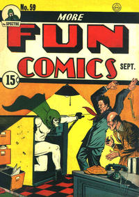 Cover Thumbnail for More Fun Comics (DC, 1936 series) #59 [15¢]